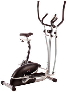 V-Fit Magnetic 2-In-1 Cycle Elliptical Trainer