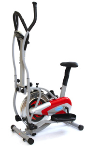 GYM MASTER 2 IN 1 Elliptical Exercise Bike & Cross Trainer