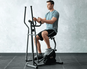 Opti Air Cross Trainer with Air resistance system